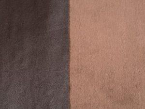Micro castor con cuero marrón