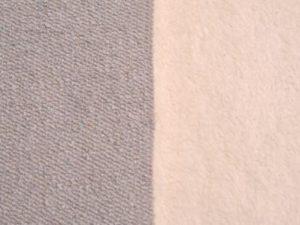 Tejido con corderito gris