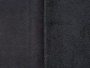 Corderito gamuzado negro