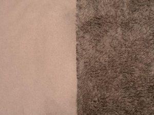 Corderito gamuzado gris