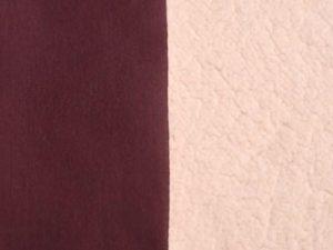 Jersey con Corderito Bordeaux