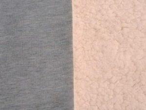 Jersey con Corderito Light Grey