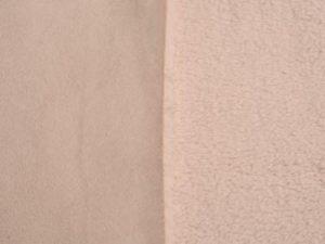 Corderito gamuzado gris claro
